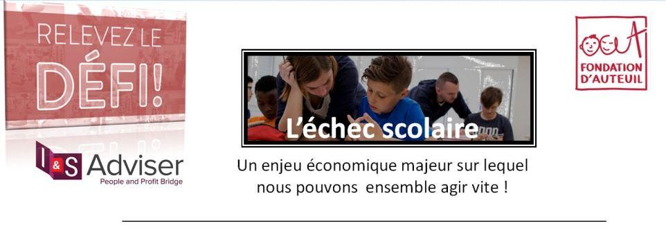 Relevez  le Défi pour lutter contre l'échec Scolaire – Fondation des apprentis d'Auteuil