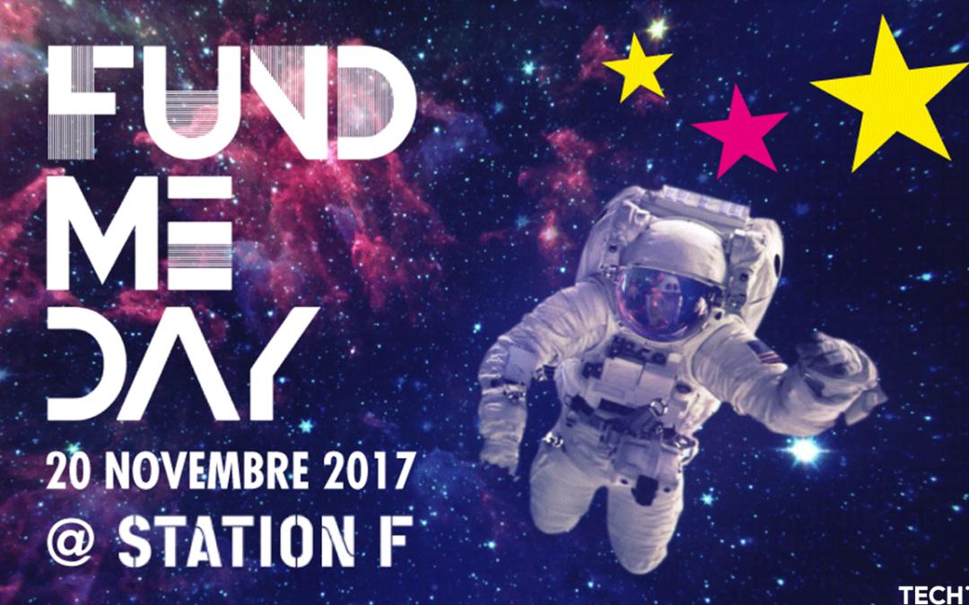 THE FUND ME DAY : RDV le 20 Novembre à Station F !