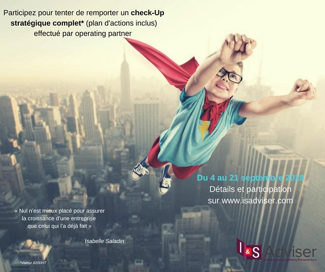 Entrepreneurs challenge : tentez de remporter votre check up stratégique !