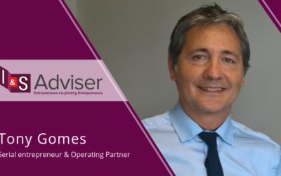L'entrepreneur Tony Gomes rejoint l'équipe d'I&S Adviser