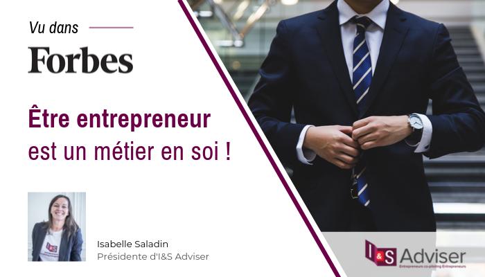 Etre entrepreneur: oui, c'est un métier!