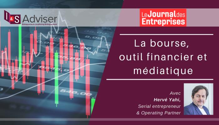 La bourse, outil financier et médiatique