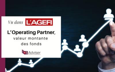 «L'Operating Partner, une valeur montante» un article paru dans l'Agefi Hedbo